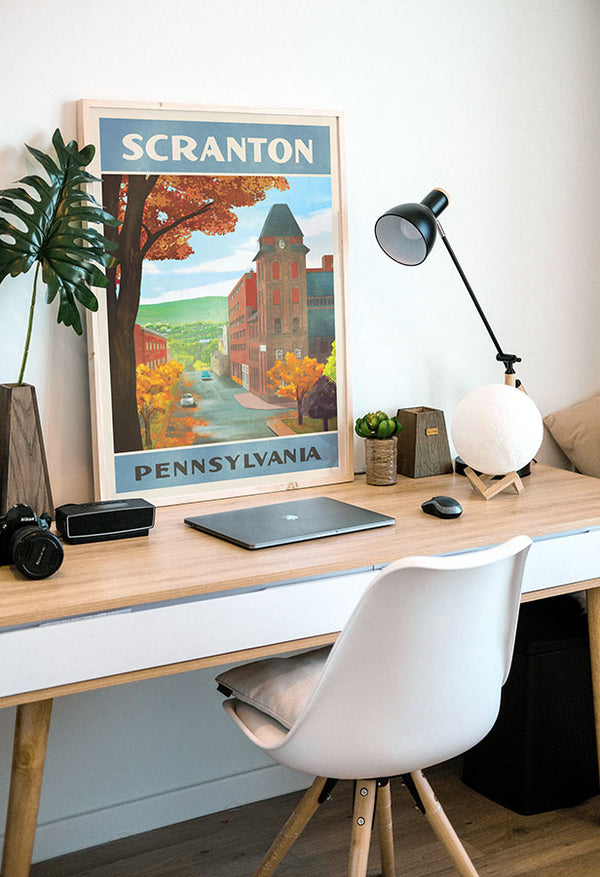 Scranton Travel Poster