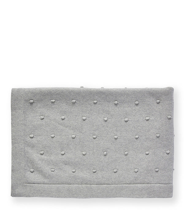 Bobble Baby Blanket-Sky Grey