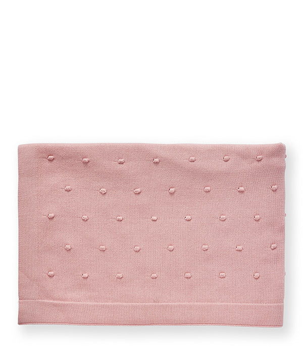 Bobble Baby Blanket-Fairy Floss Pink