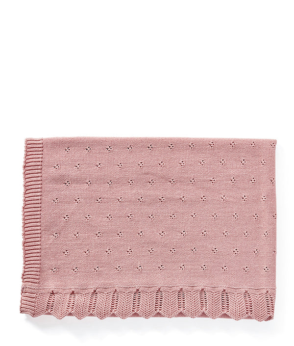 Classic Baby Blanket-Fairyfloss Pink