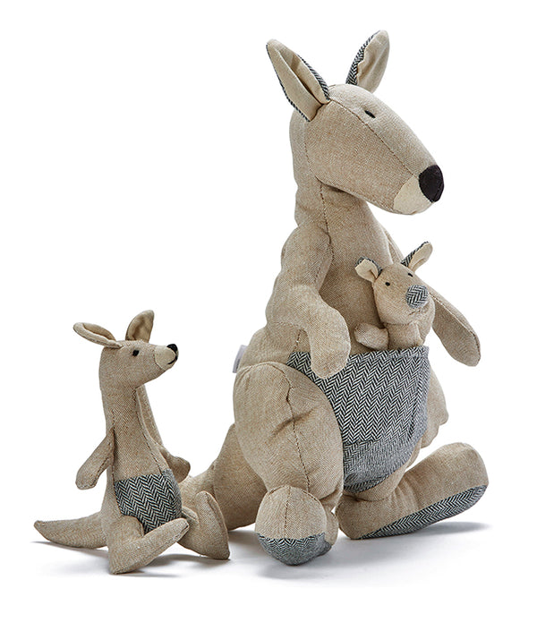 Kylie Kangaroo & Mini Rattle