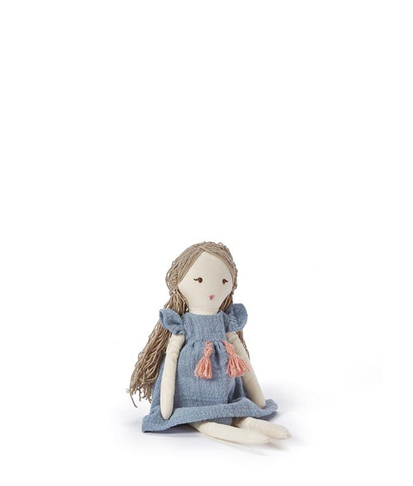 NanaHuchy Baby Lily Doll-Blue