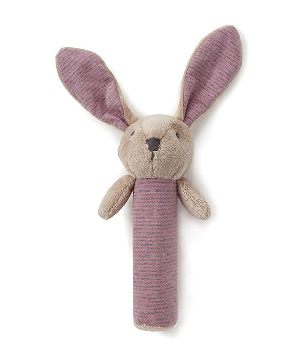 NanaHuchy Bunny Rattle-Pink