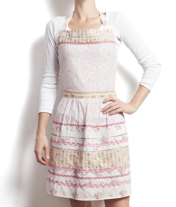 NanaHuchy Domestic Bliss Apron-Pink