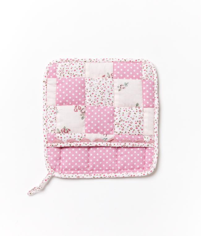 NanaHuchy Domestic Bliss Pot Holder-Pink