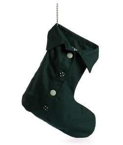 NanaHuchy Giant Felt Stocking-Green