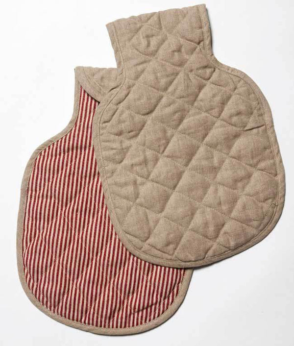 NanaHuchy Hot Water Bottle Cover-Red