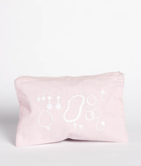 NanaHuchy Jewellery Bag-Pink