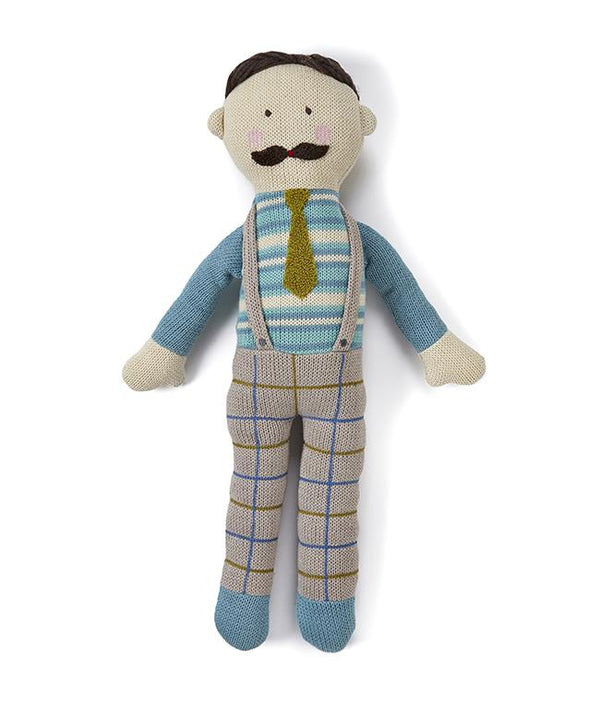 NanaHuchy Knitted Doll-Papa