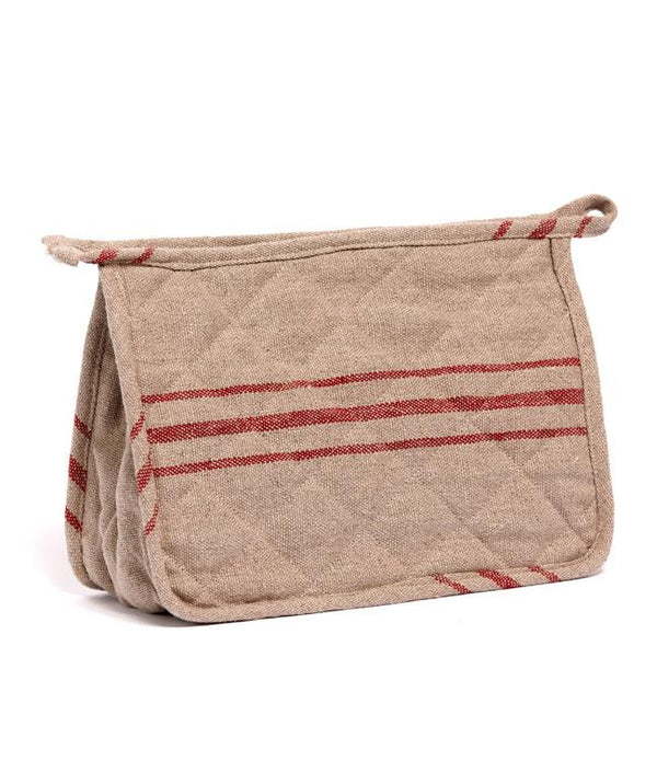NanaHuchy Linen Wash Bag-Red