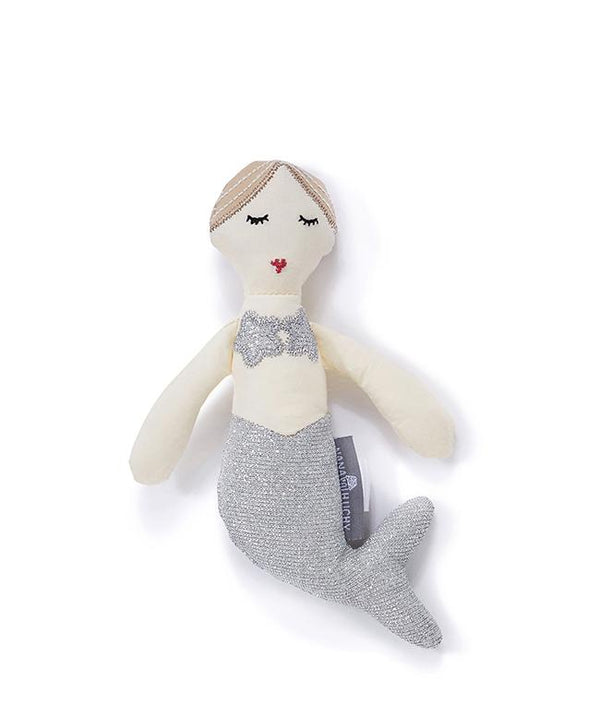 NanaHuchy Mimi Mermaid Rattle Silver