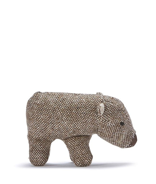 NanaHuchy Mini Wally Wombat Rattle