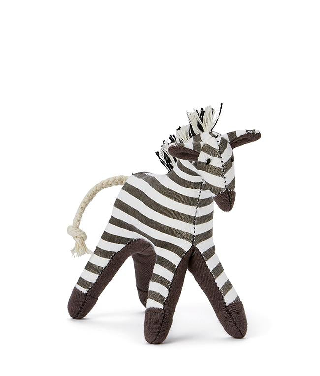 NanaHuchy Mini Zebra Rattle