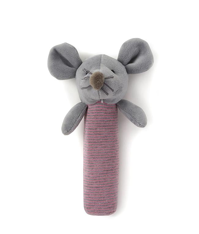 NanaHuchy Mousie Rattle-PInk