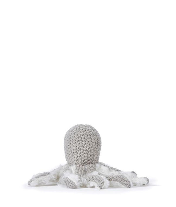 NanaHuchy Ollie Octopus rattle-Grey