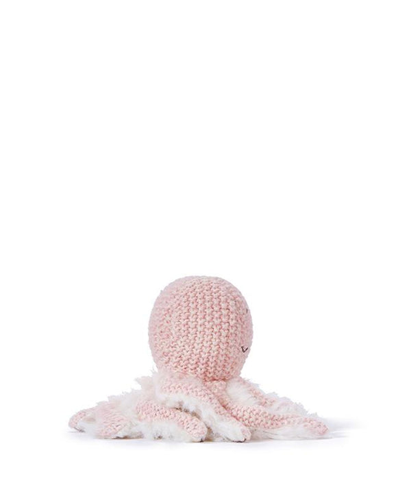 NanaHuchy Ollie Octopus rattle-Pink