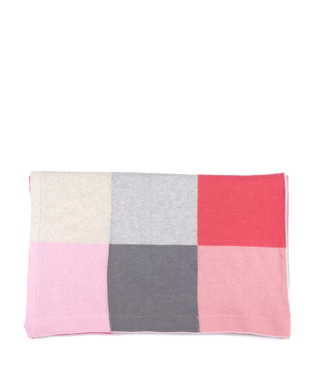 NanaHuchy Patchwork Baby Blanket-Pink