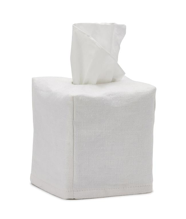 NanaHuchy Tissue Box Cover Sml-White