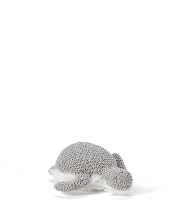 NanaHuchy Toby Turtle rattle-Grey