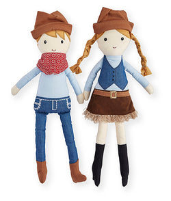 Cash Cowboy & Clancy Cowgirl Set