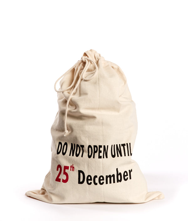 Canvas Christmas Sack-25th Dec