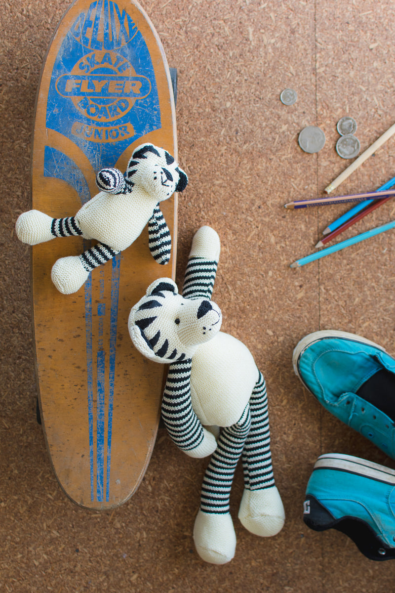 Tommy the Tiger Toy & Rattle Set