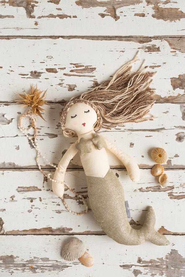 Mia The Mermaid-Gold
