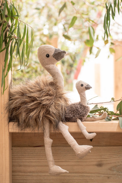 Eddie the Emu and Rattle