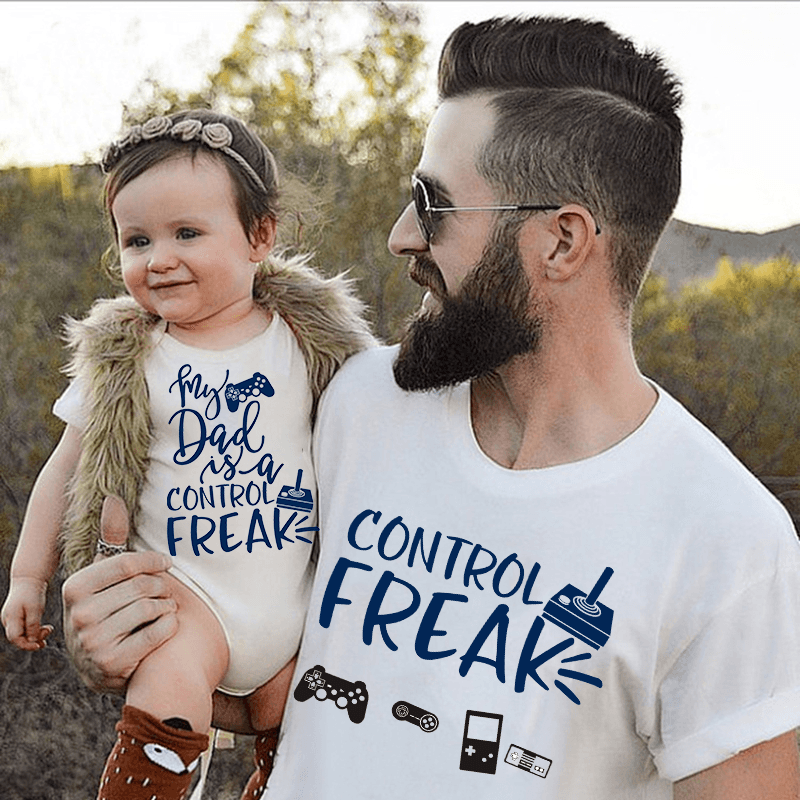 """Control Freak"" Cotton T-Shirt (S-4XL) - S&G Collections"