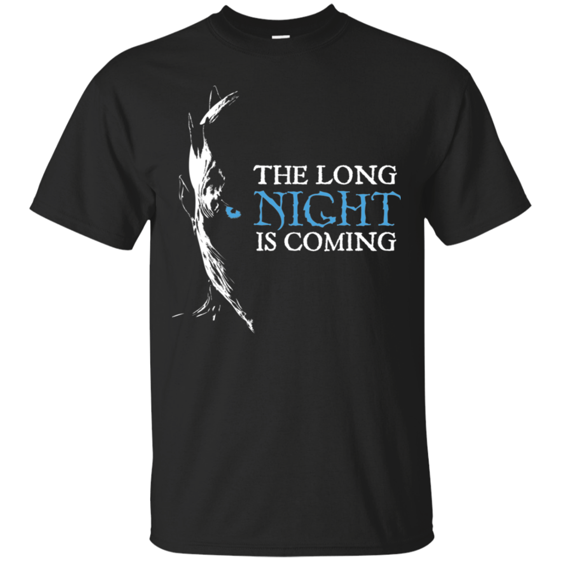 """Night King"" Cotton T-Shirt - S&G Collections"
