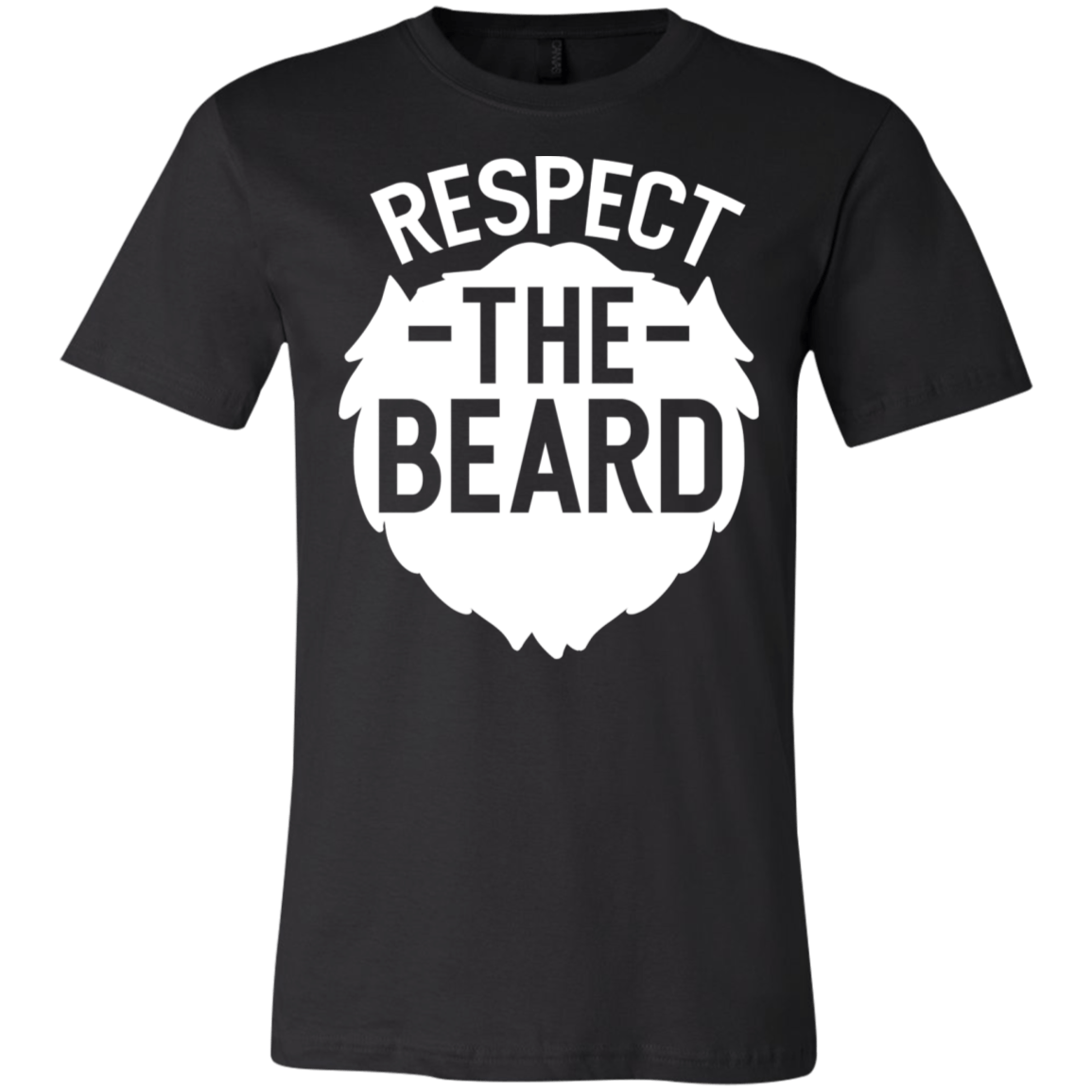 """Respect The Beard"" Cotton Unisex T-Shirt - S&G Collections"