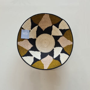 Gallery Grade Sundial Basket - Mother of Pearl