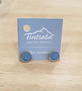 Mini Silver Stud Earrings