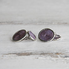 Load image into Gallery viewer, Classic Silver Cufflinks