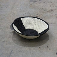Load image into Gallery viewer, Black & White African Baskets - Small