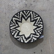 Black & White African Baskets - Small