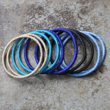 Load image into Gallery viewer, Bangles Set of 20 - Cool Colours