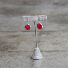 Load image into Gallery viewer, Classic Silver Hanging Earrings