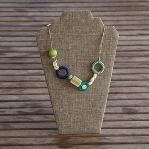 Burlap Necklace Stands