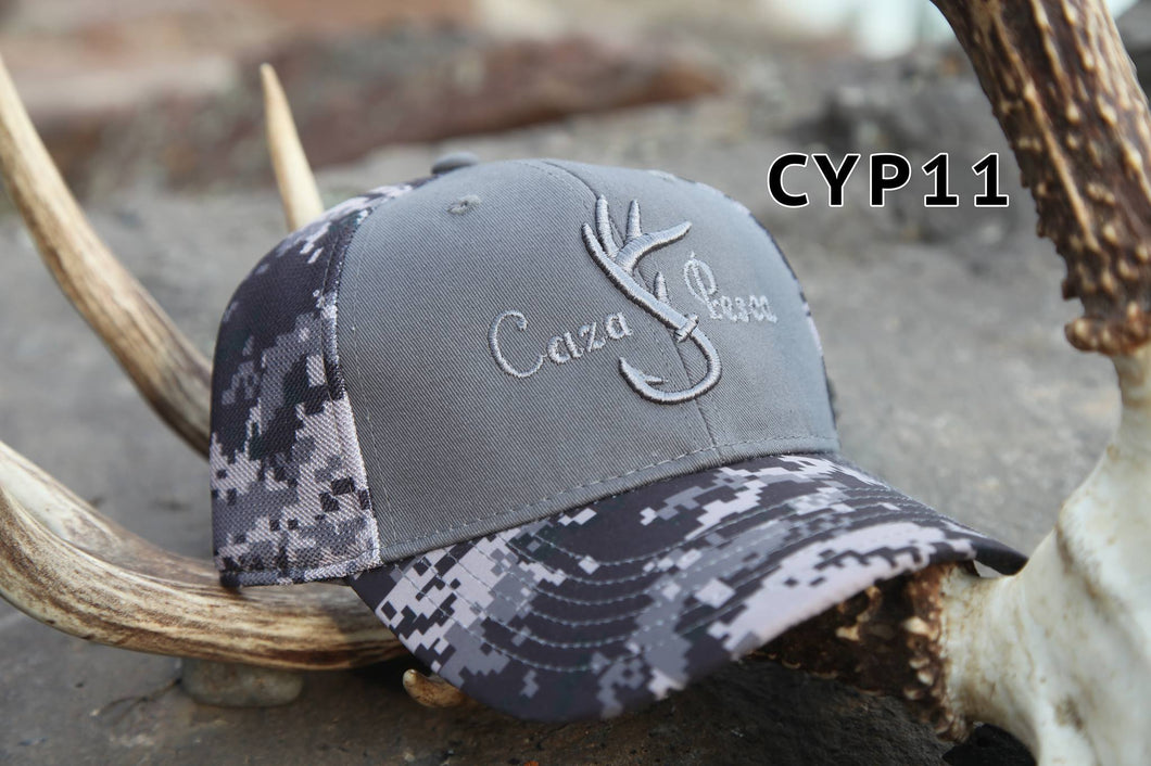 Gorra Cyp Camo Digital(Gris)
