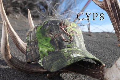 Gorra CyP Camo Natural(letra marron)