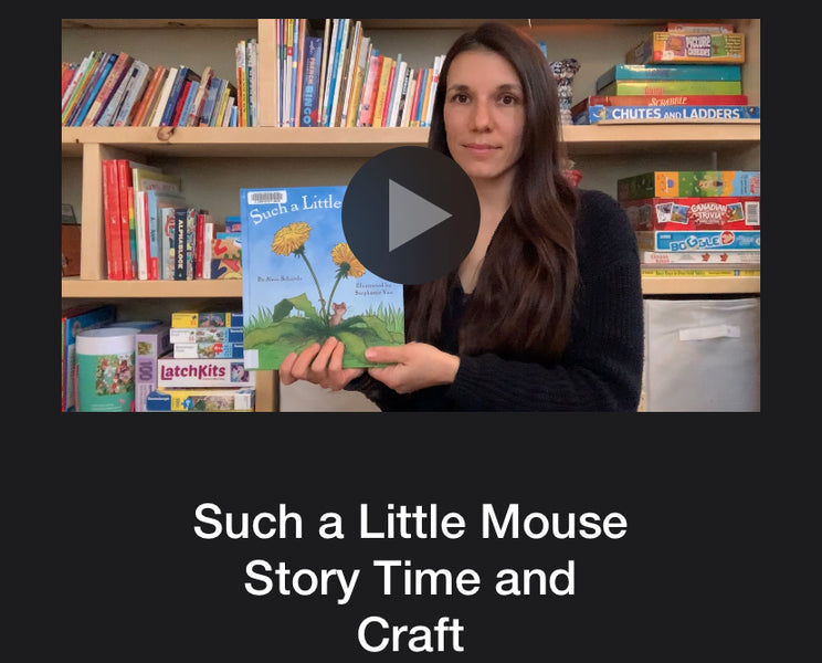 Such a Little Mouse Story Time and Craft