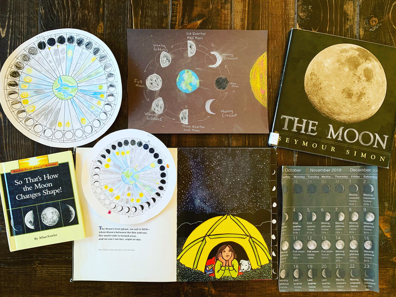 Moon Study and Lunar Phenology Wheels