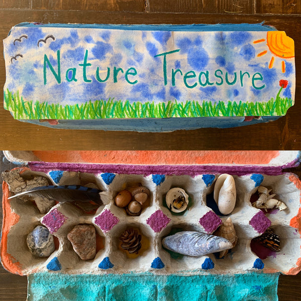 Create your own Nature Treasure Box!