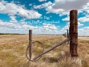 """A Prairie Day"" Digital Download"
