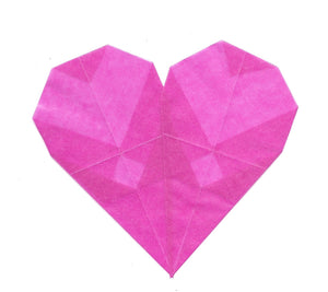 DIY Origami Heart Craft (FREE digital download)