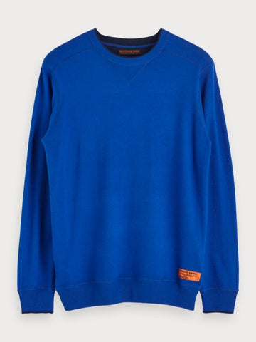 Basic Pullover in Blue