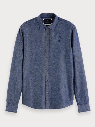 Structured Shirt | Regular fit in Blue