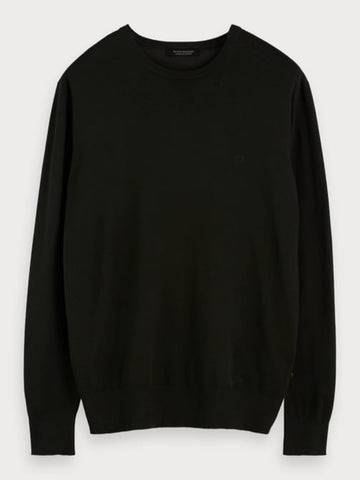 Crew Neck Pullover in Military