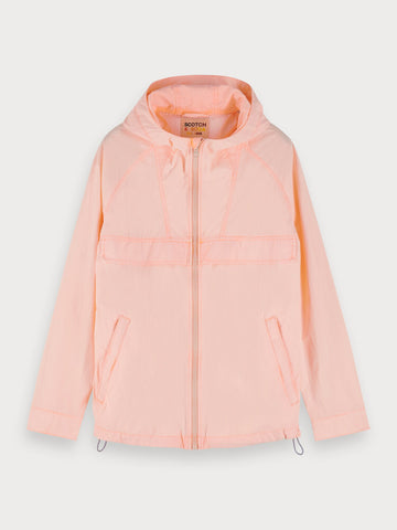 Lightweight Nylon Jacket in Pink